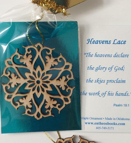 *Heavens Lace Ornament