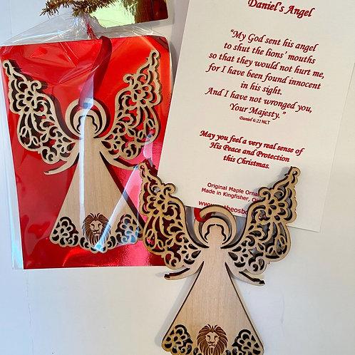 Daniel's Angel Ornament - CBS