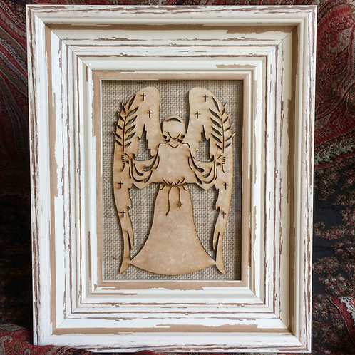 Framed Hosanna Angel