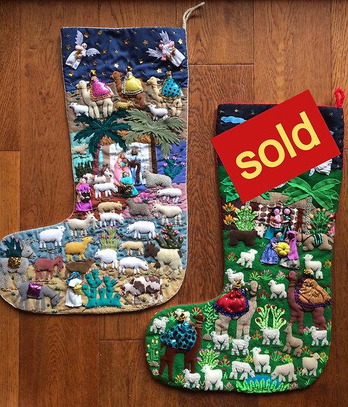 Threads of Hope Peru - Large Christmas Stocking