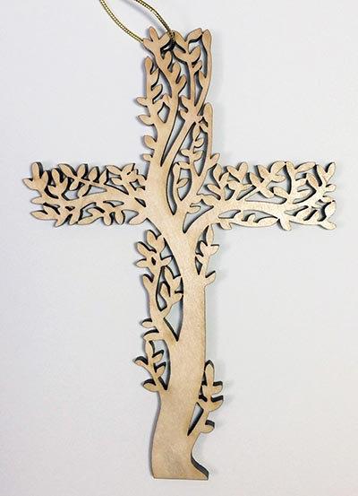 "7"" Righteous Branch Cross"