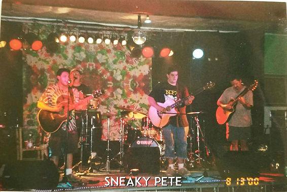 Sneaky Pete performing