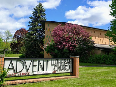 Advent Lutheran Hameline Approach