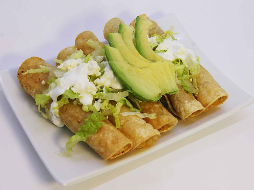 Tacos dorados (2 Dozen minimum)