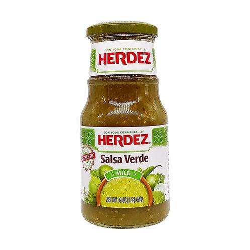 Herdez salsa verde 16oz