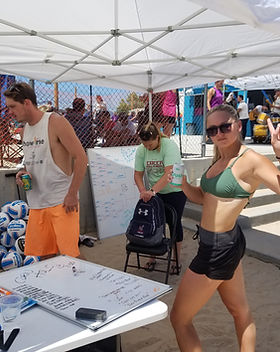 IVP beach volleyball tournaments