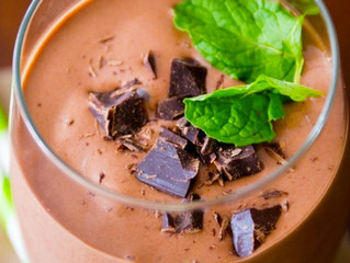 Via's GirlScout-esque Thin Mint Cookie Smoothie
