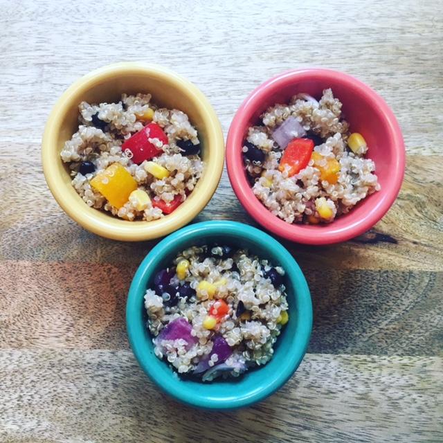 cilantro corn quinoa
