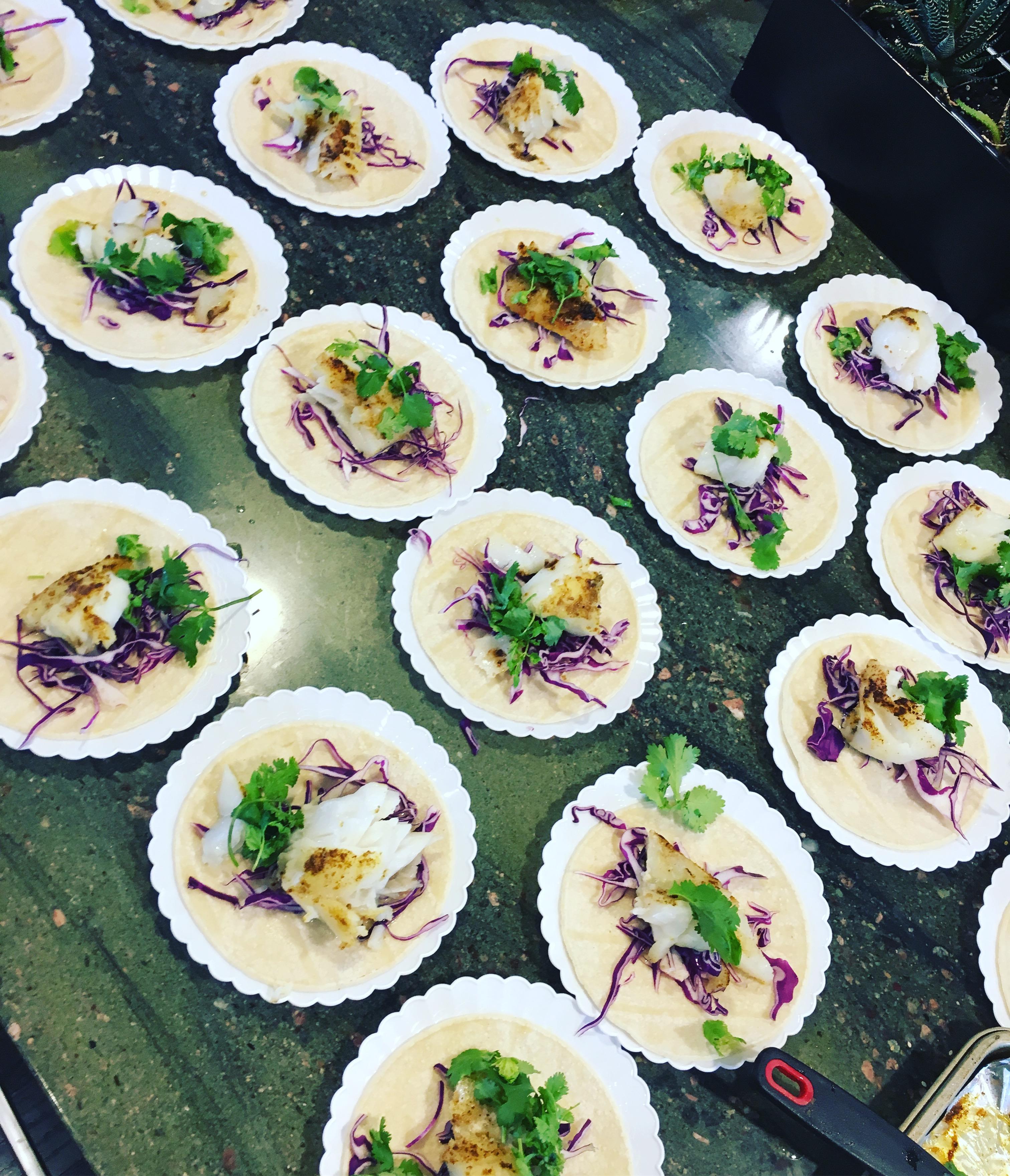Vias Kitchen - Fish Tacos