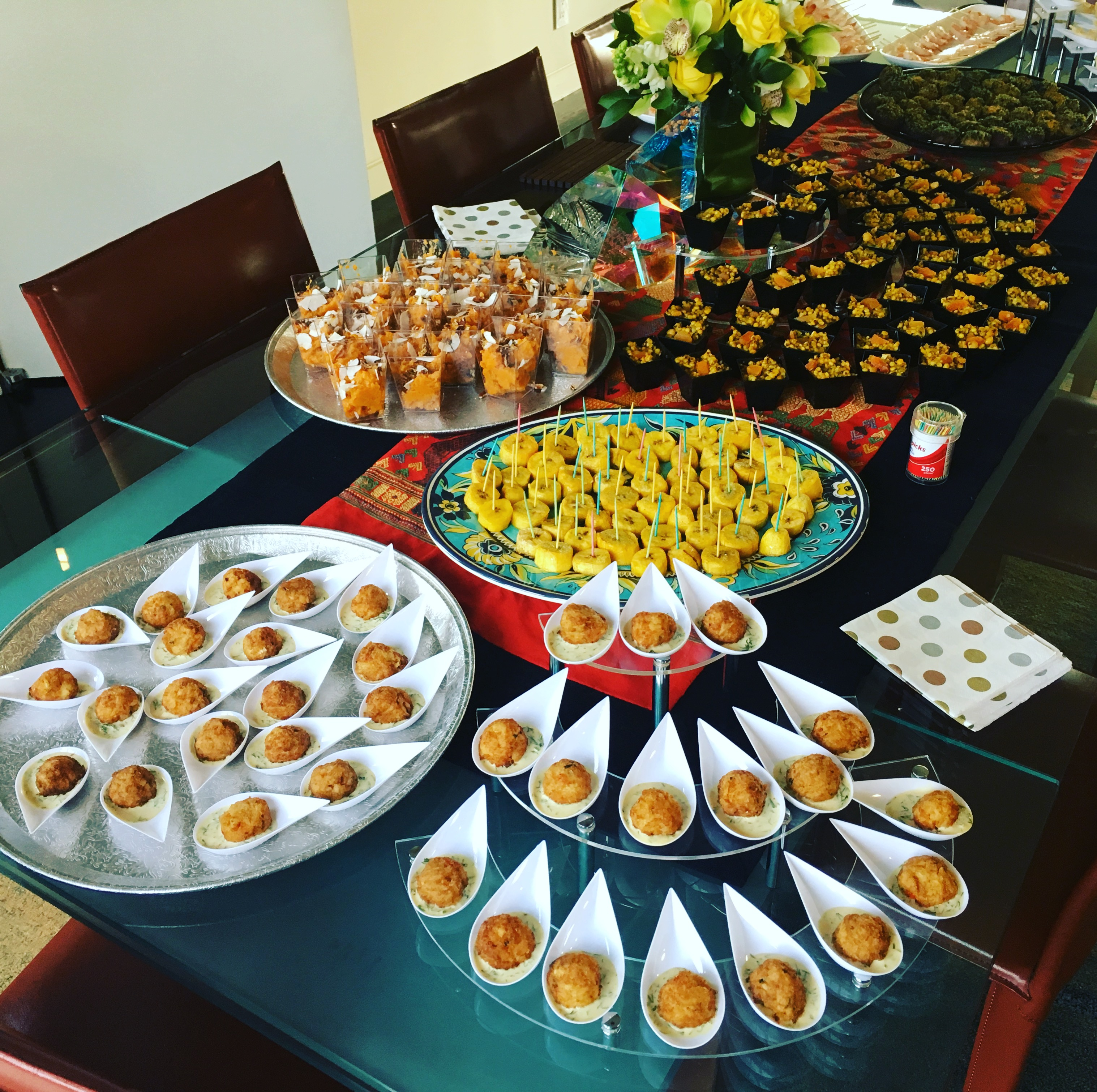 Vias Kitchen - catered pic