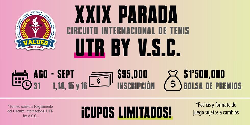 🔈 XXIX Parada 🎾 Circuito Internacional UTR by V.S.C. 🏆