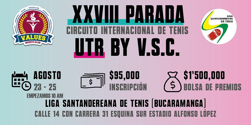 🔈 XXVIII Parada 🎾 Circuito Internacional UTR by V.S.C. 🏆
