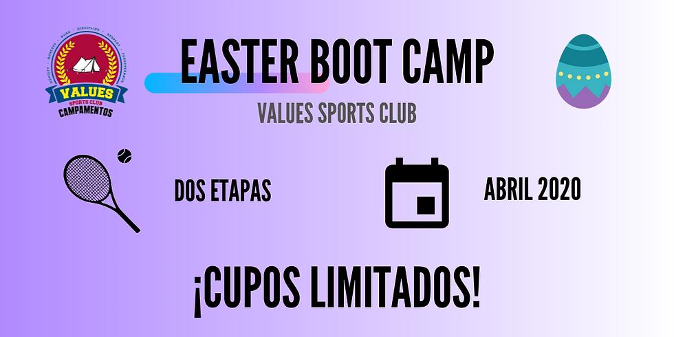 I UTR Easter Boot Camp