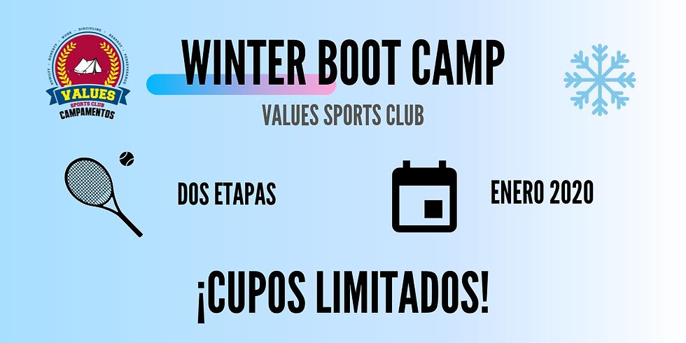 II UTR Winter Boot Camp