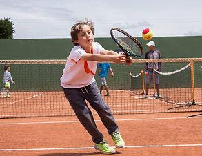 Aprende Tenis niños bogota. Bola Roja
