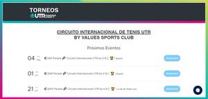 """Ingresa a la página www.valuessportsclub.com/torneos y haz clic en el botón de """"INSCRÍBETE"""" en el torneo que deseas a jugar."""