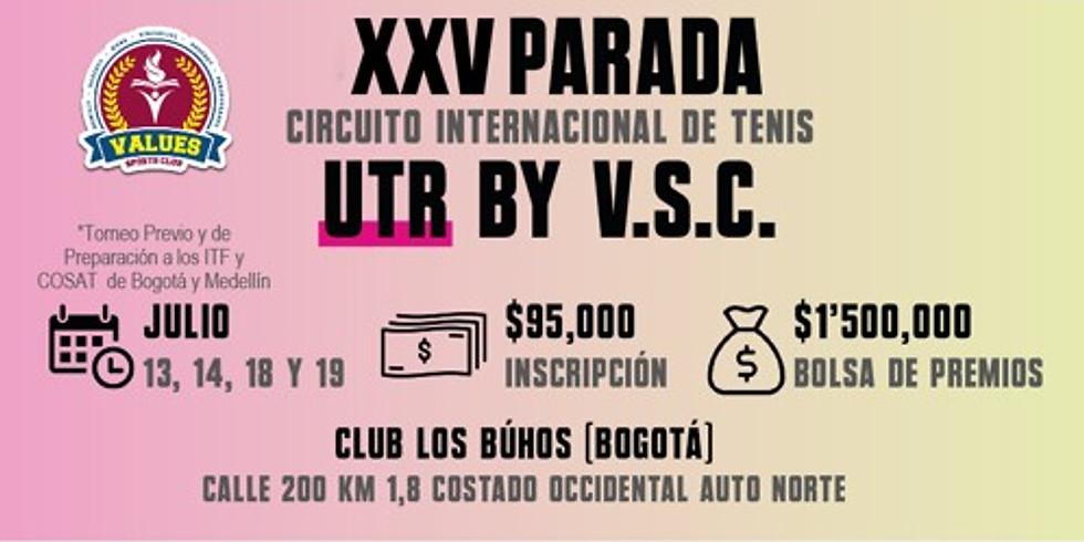 🔈 XXV Parada 🎾 Circuito Internacional UTR by V.S.C. 🏆