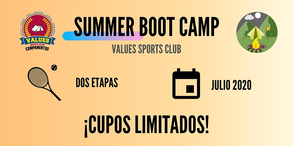 II UTR Summer Boot Camp