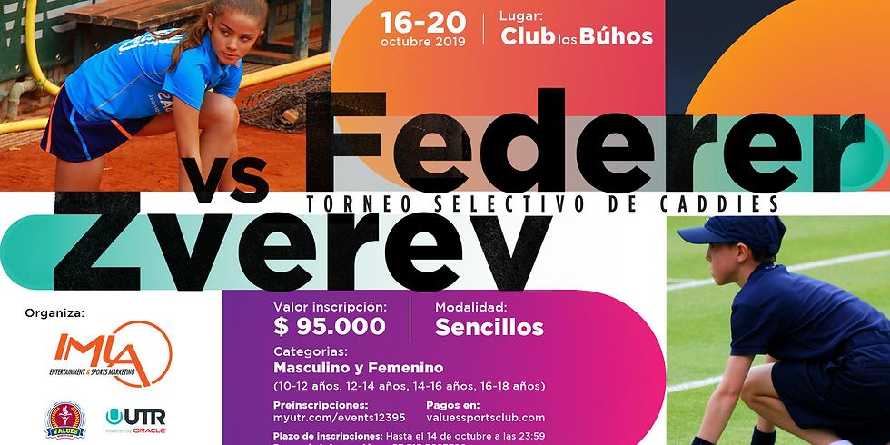 🔈 Torneo UTR 🎾 Selectivo de Caddies del duelo Federer vs. Zverev🏆