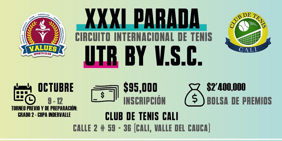🔈 XXXI Parada 🎾 Circuito Internacional UTR by V.S.C. 🏆