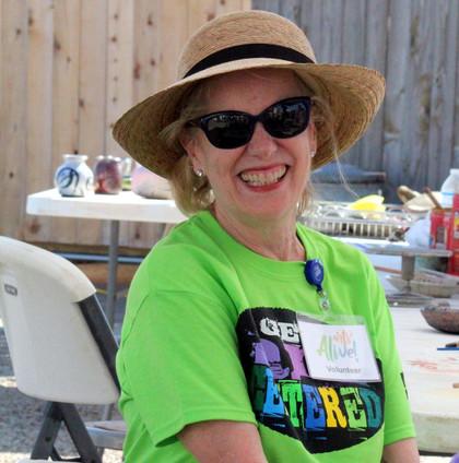 Arts Alive 2017 Marilyn Morgan volunteer