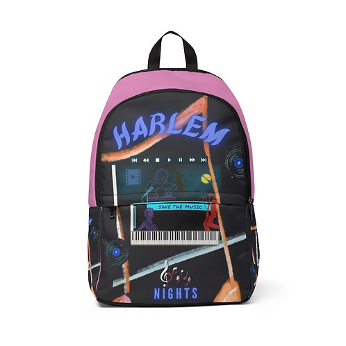 Harlem Nights Fabric Backpack