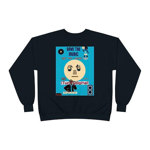 Save The Music Crewneck Sweatshirt