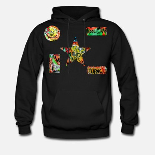 Dble Sided Hip Hop Dialogue Hoodie