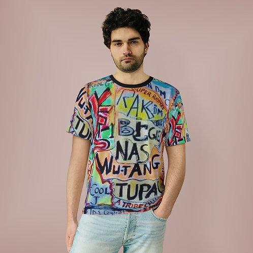 All Over Print Hip Hop  T-Shirt