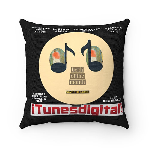 Polyester ID Pillow