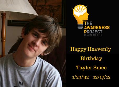 Happy Heavenly Birthday Tayler Smee🧡🖤💛