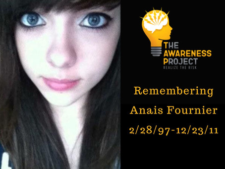 14 yr old Anais Fournier was declared brain dead because of a energy drink.