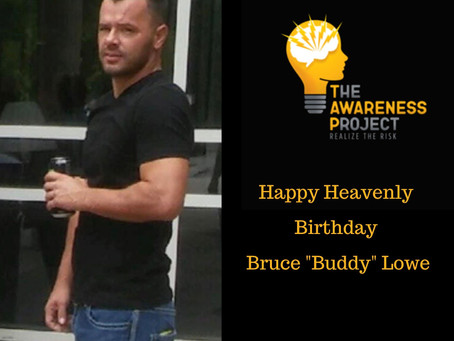 Happy Heavenly Birthday Buddy Lowe