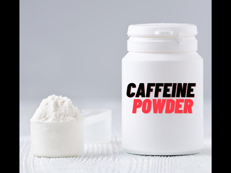 Deadly Caffeine Powder⚡️☠️