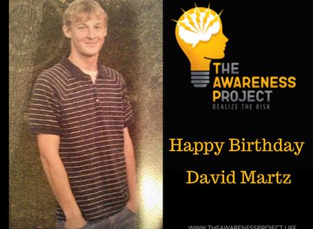 Happy Heavenly Birthday David Martz🧡🖤💛