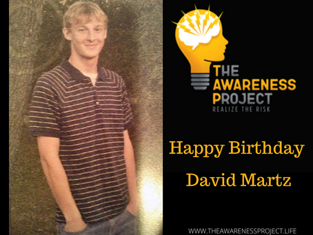 Happy Heavenly Birthday David Martz🧡🖤💛