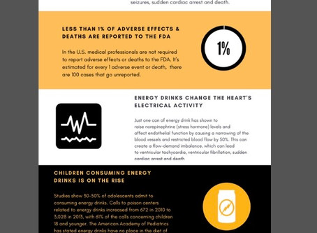 February is Energy Drink Awareness. What have YOU done to help raise awareness? 🧡🖤💛