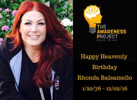 Happy Heavenly Birthday Rhonda Balsamello🧡🖤💛