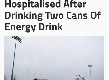 Youth Hospitalized After Drinking Two Cans Of Energy Drinks⚡️