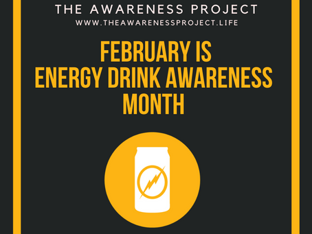 February is Energy Drink Awareness Month🧡🖤💛 See the faces of lives lost & those severely affected