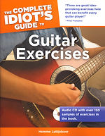 Complete Idiot's Guide to Guitar Exercises