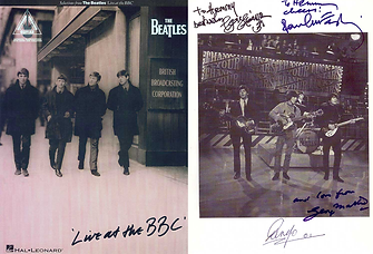 Beatles Live at the BBC Book