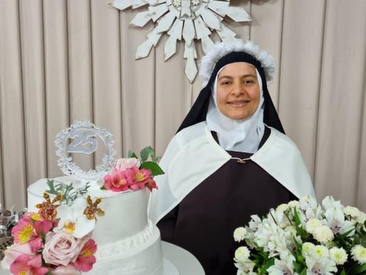 Bodas de Prata de Ir. Maria Lúcia do Menino Jesus