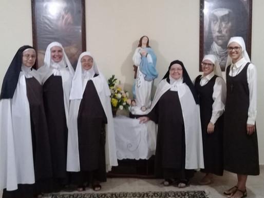 Vestição Religiosa no Carmelo Santa Teresinha-Maceió/AL