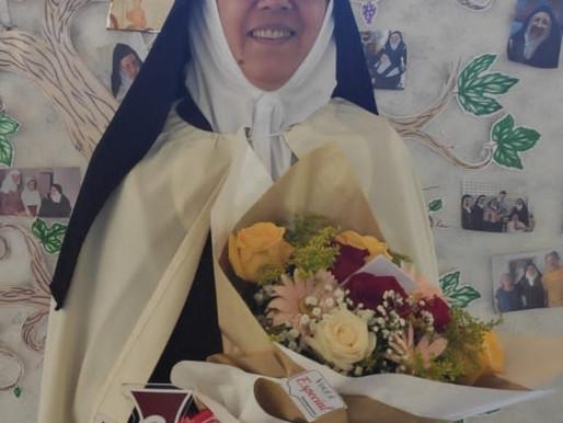 25 anos narrando com a vida as maravilhas de Deus e a companhia da Virgem Maria!