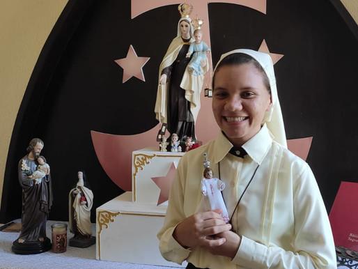 Início do Postulantado de Bianca