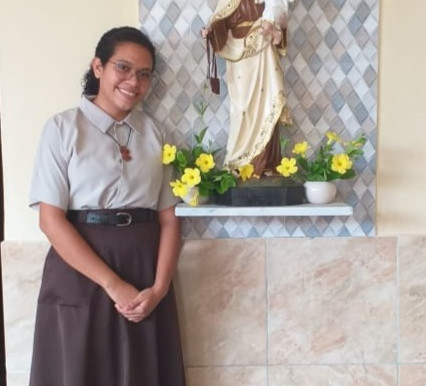 Entrada de Isabella no Carmelo São José