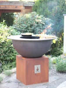 Die Bowl als Outdoor-Küche: Grillen auf der Terrasse