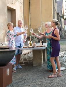 Weißwein am Grill: Die Feier kann beginnen