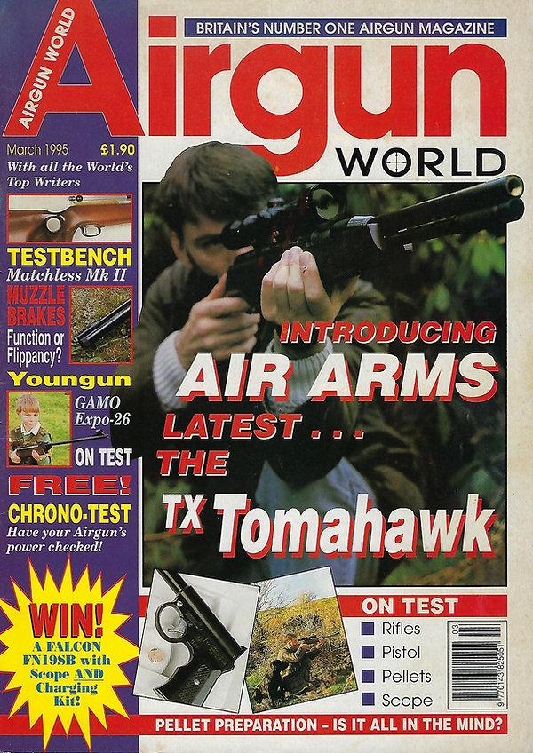 AGW - MARCH 1995 - TX TOMAHAWK FRONT COV